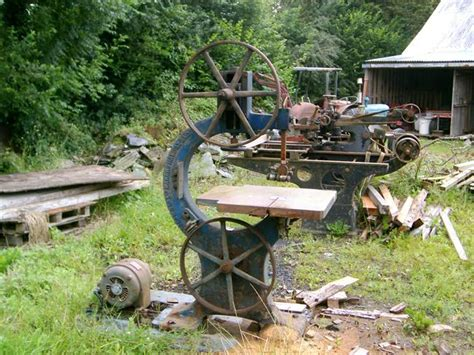 vintage woodworking machinery photo index j sagar co sagar 24 quot bandsaw