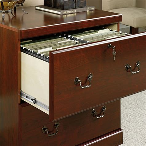 sauder lateral file sauder heritage hill lateral file classic cherry boscov s