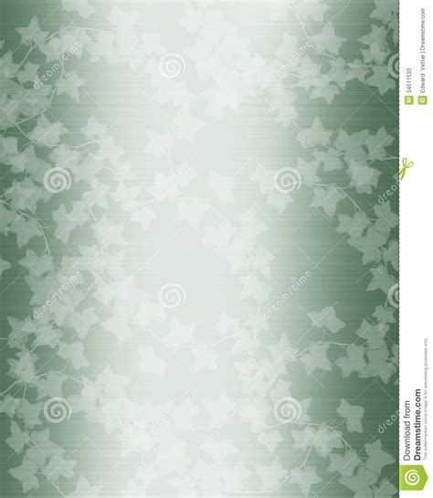 Wedding Background Design Green by Wedding Template Green White Stock Photos Image