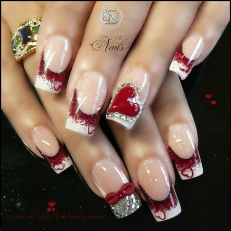 valentines nails design 36 and lovely nail design for s day