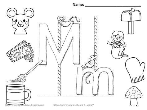 letter m coloring book go back gt gallery for letter m
