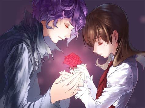 wallpaper romantic couple cartoon romantic animated couple 1600x1200 376518