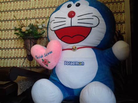Terlaris Boneka Doraemon Besar jual gratis nama boneka doraemon jumbo besar di lapak sumbatoys andu