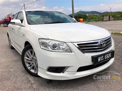 how to sell used cars 2011 toyota camry navigation system toyota camry 2011 v 2 4 in kuala lumpur automatic sedan white for rm 80 800 3497438 carlist my