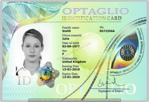 how to make a hologram card holographic id overlay holographic id card and id