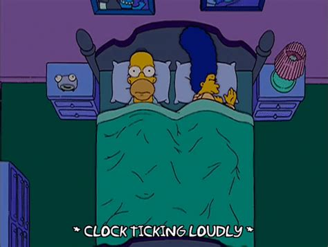 Bedroom Picture Frames homer simpson sleeping gif find amp share on giphy