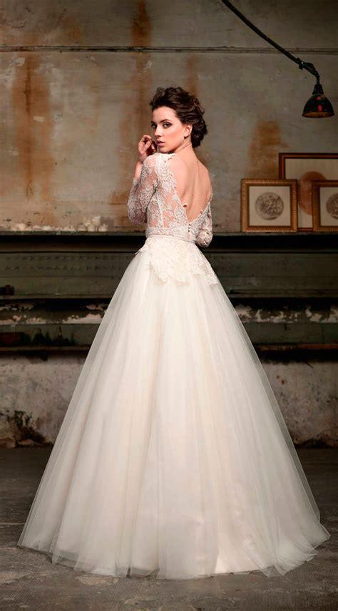 imagenes vestidos de novia escote v vestidos de novia de espaldas escotadas vestidosdenovia com
