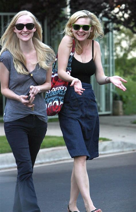 Kirsten Dunst Is Not A Friend To The Elderly by Kirsten Dunst Photos Photos Kirsten Dunst Leaving A