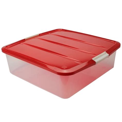 plastic wreath storage box red christmas wreath boxes iris
