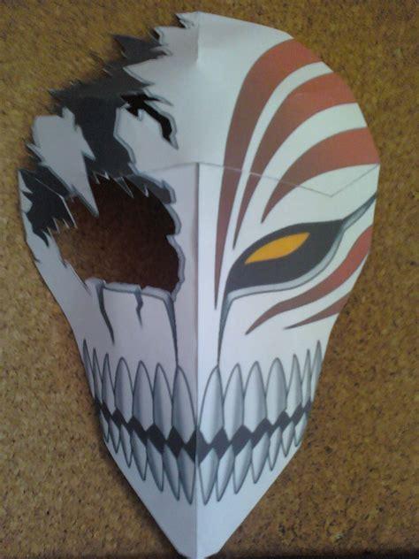 Papercraft Masks - broken hollow mask papercraft finished by rubenimus21 on