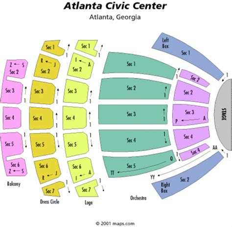 san diego civic center seating atlanta civic center seating chart atlanta civic center