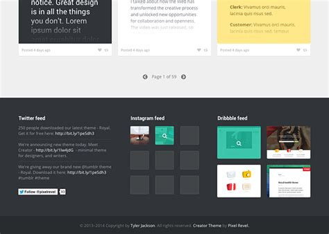 tumblr themes builder creator tumblr