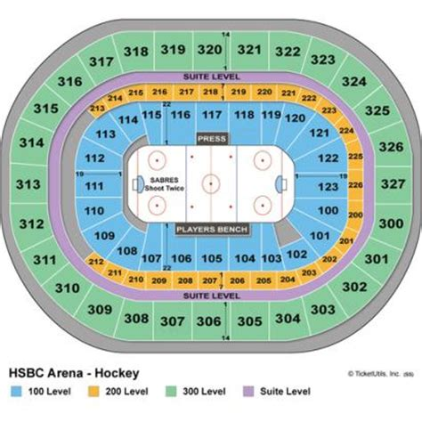 niagara center seating chart concerts vipseats key bank center tickets
