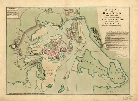 boston map 1775 doc butler s u s history website for students maps