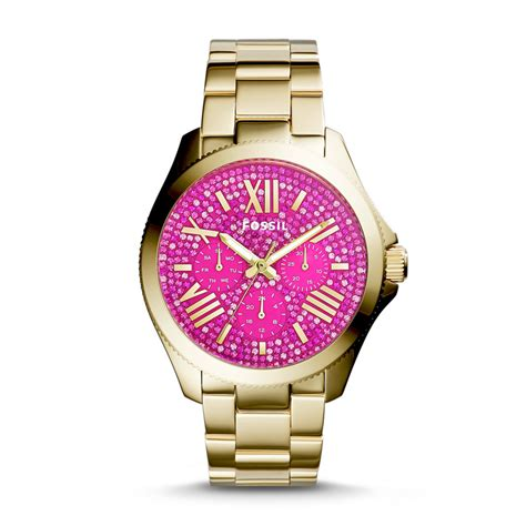 Fossil Cecile Am4539 Gold Pink 301 moved permanently