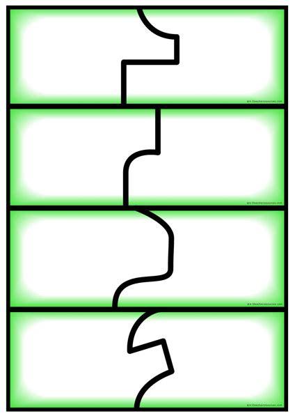 Editable Puzzle Clip Art 56 Editable Puzzle Pieces