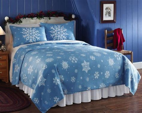 fleece comforter queen snowflake fleece coverlet blanket blue full queen