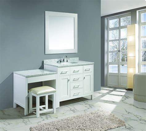 make bathroom vanity bathroom makeup vanity building a makeup station from