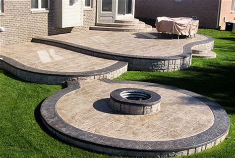 Patio Surface Material Ideas Sted Concrete Patio Cost Ideas 2017 Photos