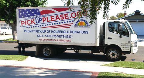 Veterans Furniture Donations by Veterans Of America Clothing Donation Program
