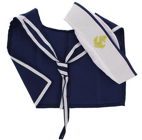 zac s alter ego 174 fancy dress sailor hat scarf set