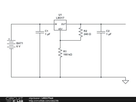 difference between voltage regulator and resistor lm317 voltage regulator resistor math bug circuitlab support forum circuitlab
