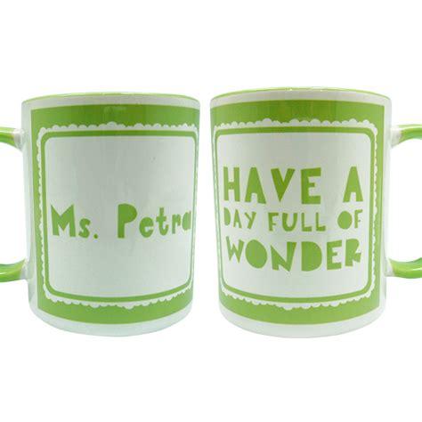 Gelas Coffee jual gelas mug kopi wonderful day char coll gifts