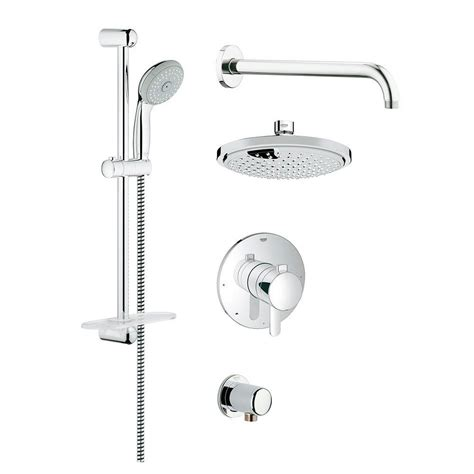 Grohe Shower by Grohe Grohflex Cosmopolitan Shower Set 1 Spray Shower
