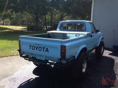 1982 Toyota 4x4 1982 Toyota Hilux 4x4 With 2004 Toyota Tacoma 2rz Motor