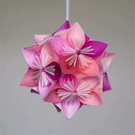 Origami Flower Balls - 1000 images about kusudama flowers on origami