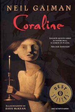 libro coraline trama e recensione del libro coraline di neil gaiman