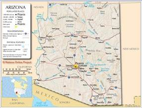 map of arizona for arizona map free large images