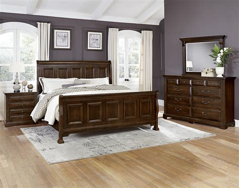 vaughan bassett bedroom sets vaughan bassett woodlands king bedroom group belfort
