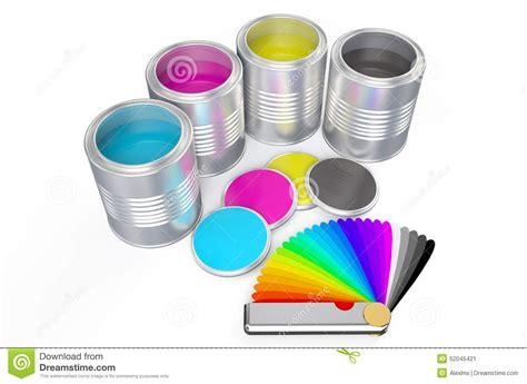 pantone paint cans cans with color paint and pantone color palette guide