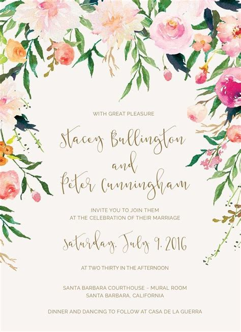 Wedding Announcement Phrases by Unique Wedding Invitation Wording One Parent Deceased