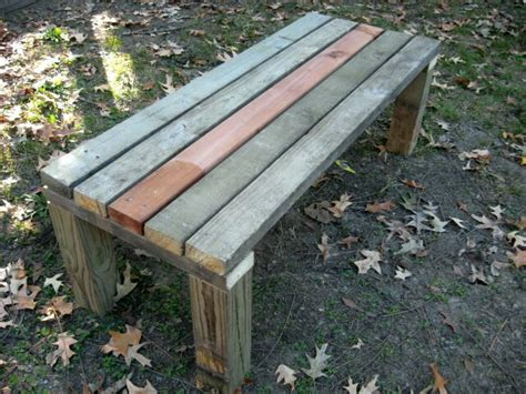 easy outdoor bench pdf how to build a simple bench plans free