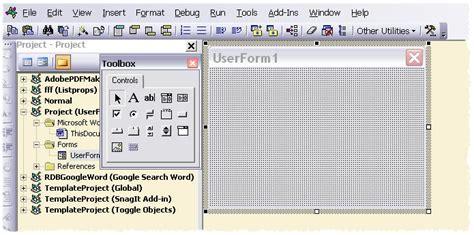 design pattern vba custom vba userform message