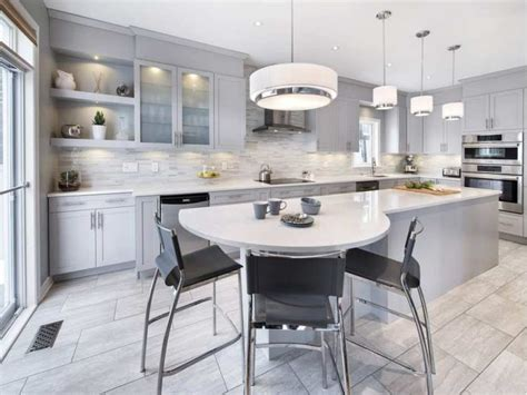 kitchen island ottawa winning kitchens and bathrooms come in 250 shades of white moon shapes breakfast bars and