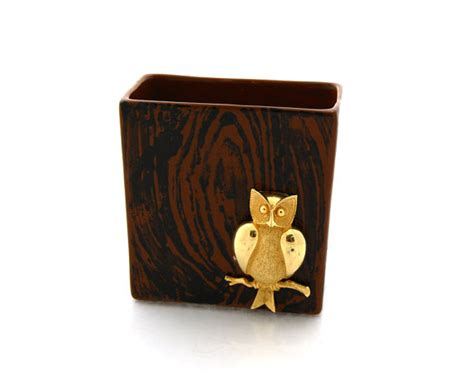 Teacher Gift Owl Pencil Cup Desk Accessory Gift For Owl Desk Accessories