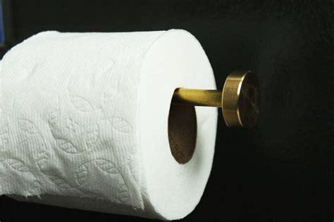 diy toilet paper holder diy chic brass toilet paper holder