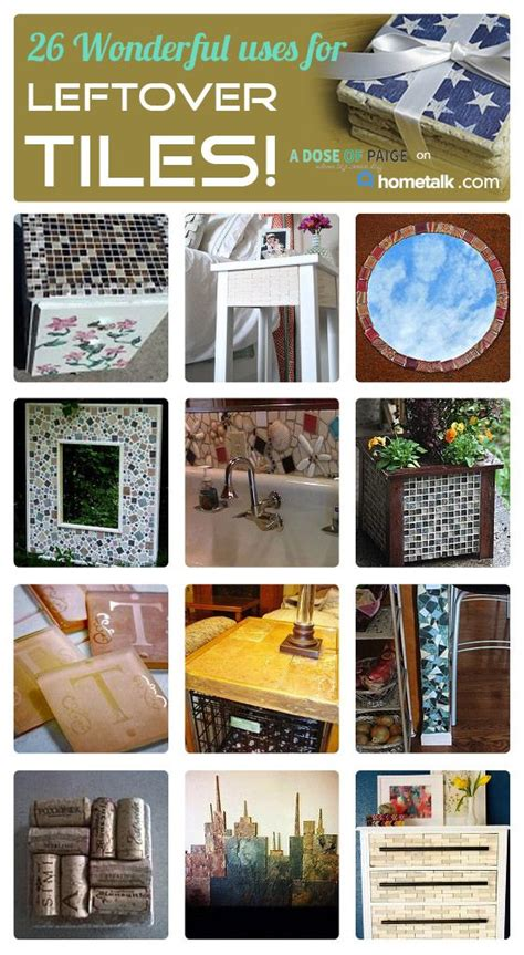what to do with leftover tile wonderful uses for leftover tiles idea box by paige nicole
