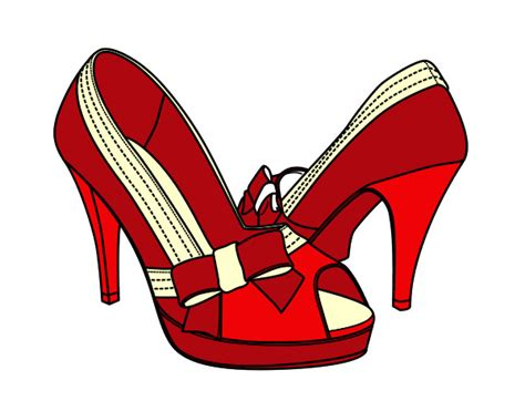 imagenes animadas zapatos zapatos de mujer dibujo