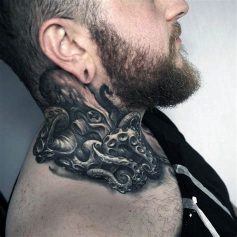 neck tattoo designs for guys image gallery neck tattoos for men
