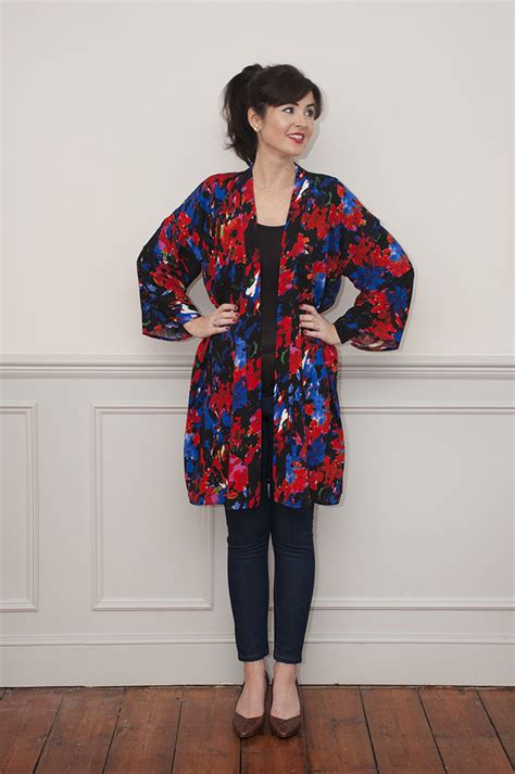 pattern for a kimono sew over it kimono jacket sewing pattern sew over it