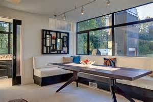 contemporary banquette modern banquette seating for contemporary dining room and