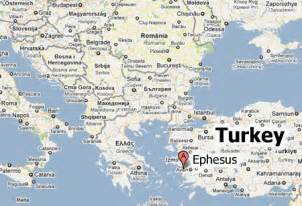great world city map location ephesus maps where is ephesus about tours