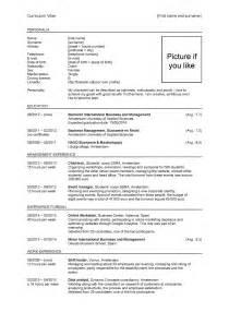 Curriculum Vitae Engels Template Voorbeeld Curriculum Vitae Engels Sollicitatieblog