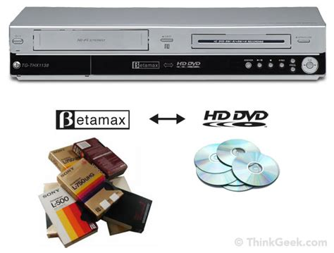 cassette to dvd converter betamax to hd dvd converter