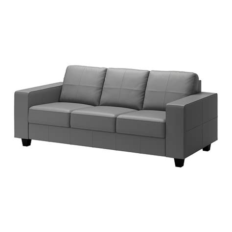 Skogaby Sofa Glose Bomstad Gray Ikea Ikea Leather Sofa