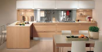 Oak Kitchen Designs Light Oak Wooden Kitchen Designs Digsdigs